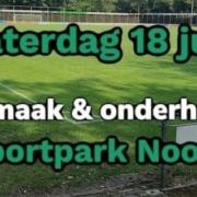 Schoonmaakdag Sportpark Noord