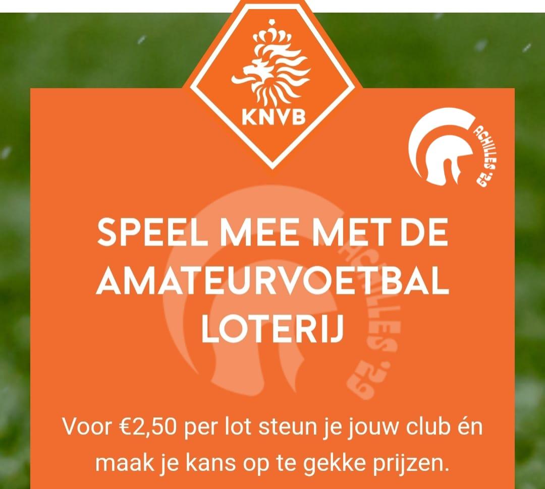 Amateurvoetbal loterij